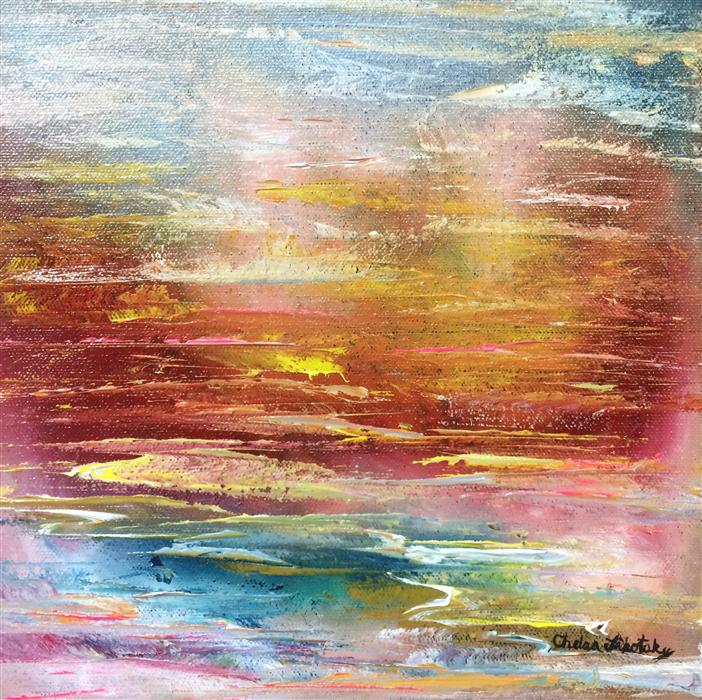 Discover Original Art by Chelsea Tikotsky | Sailor Delight oil painting | Art for Sale Online at UGallery