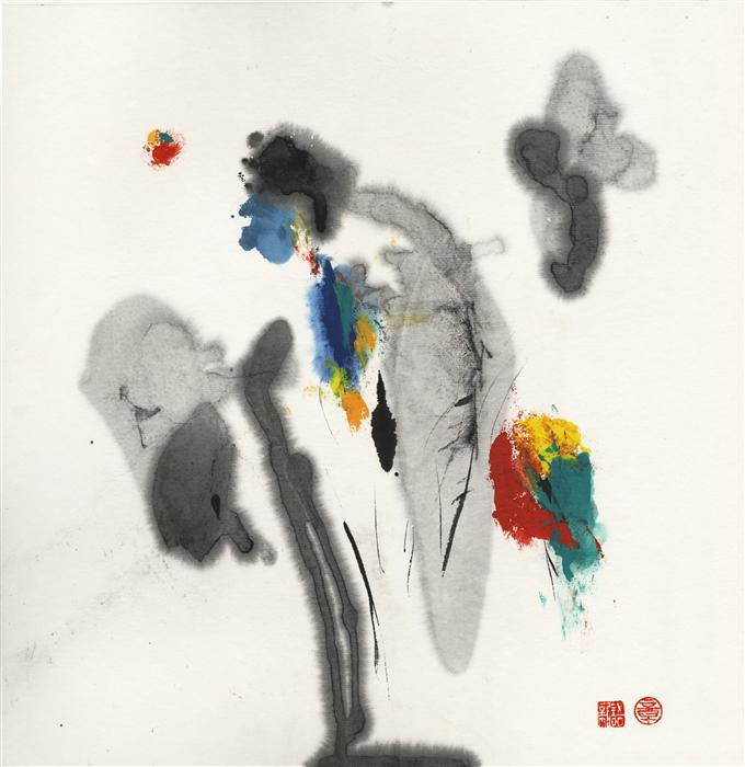 Original art for sale at UGallery.com | 2014mood#27 by XINYU ZHANG | $400 | Ink artwork | 13.5' h x 13.7' w | http://www.ugallery.com/ink-artwork-2014mood-27