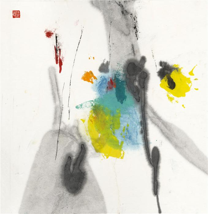 Original art for sale at UGallery.com | 2014mood#25 by XINYU ZHANG | $400 | Ink artwork | 13.5' h x 13.7' w | http://www.ugallery.com/ink-artwork-2014mood-25