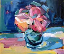 Expressionism art,Still Life art,Flora art,Representational art,acrylic painting,Yesterday