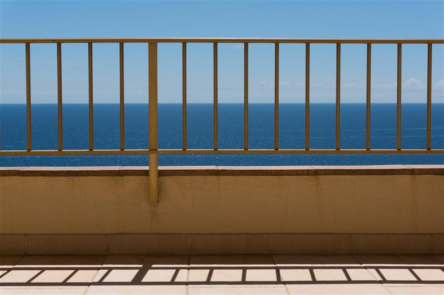 Original art for sale at UGallery.com | Balcony by KIMBERLY POPPE | $145 |  | ' h x ' w | http://www.ugallery.com/photography-balcony