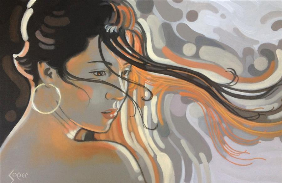 Discover Original Art by Patrick Soper | Autumn's Kiss oil painting | Art for Sale Online at UGallery