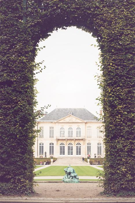 Original art for sale at UGallery.com | Musee Rodin Gardens by REBECCA PLOTNICK | $220 |  | ' h x ' w | http://www.ugallery.com/photography-musee-rodin-gardens