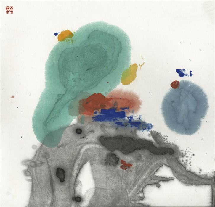 Discover Original Art by Xinyu Zhang | 2014mood#28 ink artwork | Art for Sale Online at UGallery