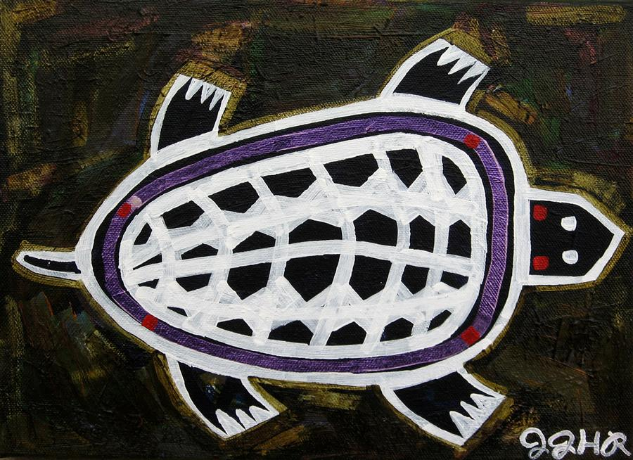 Discover Original Art by Jessica JH Roller | Turtle acrylic painting | Art for Sale Online at UGallery