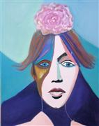 Original art for sale at UGallery.com | Maria by Carolyn Schlam | $3,275 | oil painting | http://www.ugallery.com/oil-painting-maria