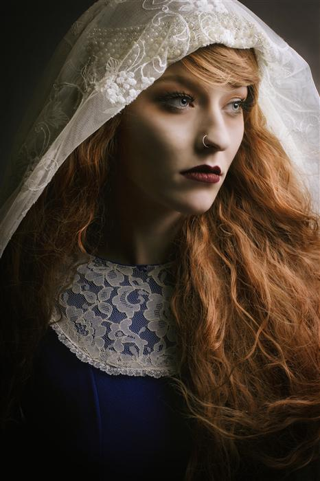 Original art for sale at UGallery.com | Renaissance Woman by SARAH CLEMENTS | $220 |  | ' h x ' w | http://www.ugallery.com/photography-renaissance-woman
