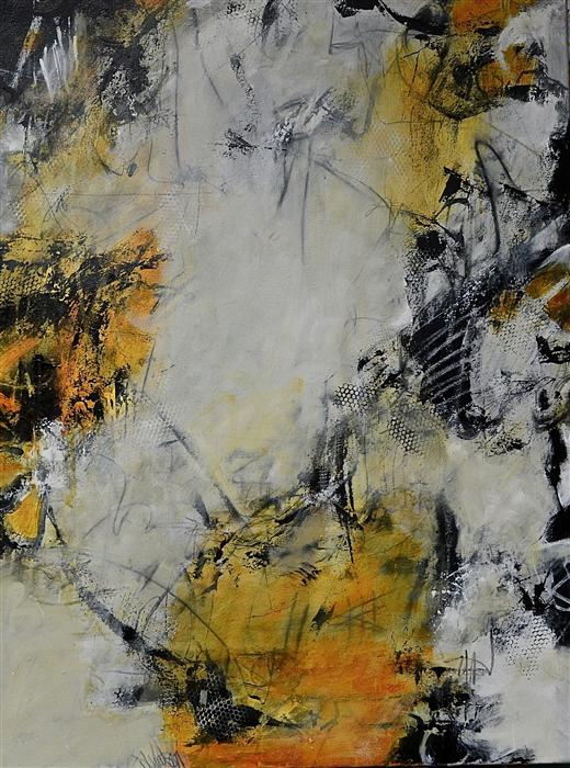 Original art for sale at UGallery.com | Neutral Ground by DL WATSON | $2,725 | Acrylic painting | 40' h x 30' w | http://www.ugallery.com/acrylic-painting-neutral-ground