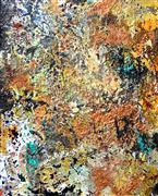 Abstract art,Non-representational art,mixed media artwork,Minerali