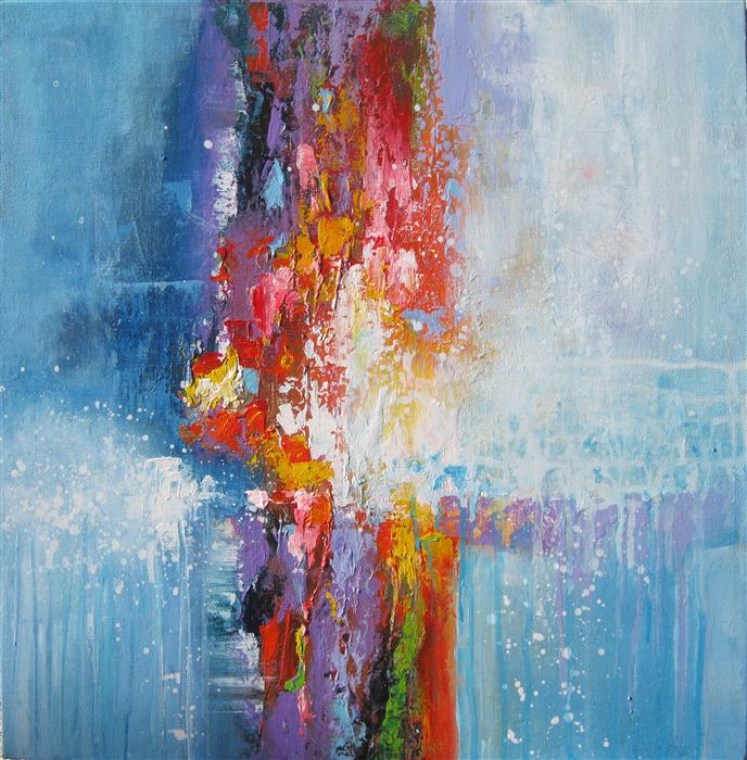 Original art for sale at UGallery.com | Into the Light by DONNA JOHANSEN | $1,050 | Acrylic painting | 20' h x 20' w | http://www.ugallery.com/acrylic-painting-into-the-light-35120