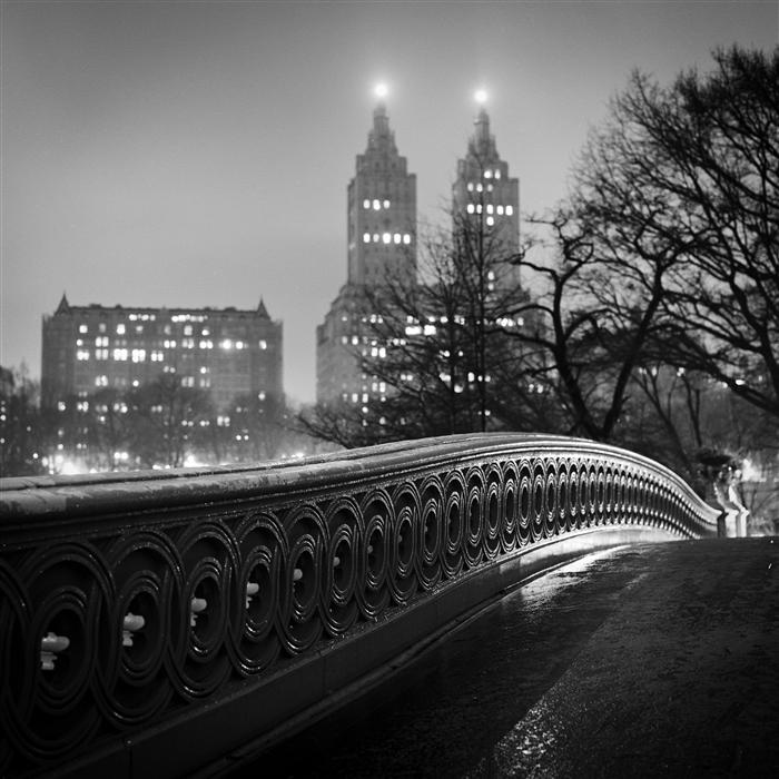 Original art for sale at UGallery.com | Bow Bridge, Central Park by ADAM GARELICK | $160 |  | ' h x ' w | http://www.ugallery.com/photography-bow-bridge-central-park