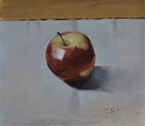 Still Life art,Realism art,Representational art,oil painting,Apple
