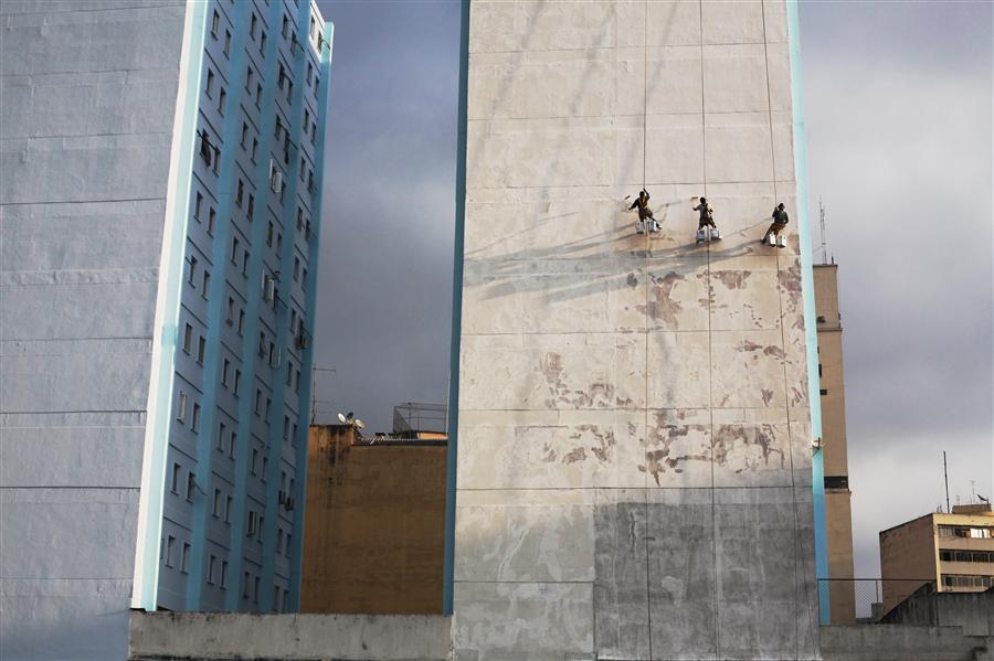 Original art for sale at UGallery.com | Cidade Cinza by MARIA PLOTNIKOVA | $145 |  | ' h x ' w | http://www.ugallery.com/photography-cidade-cinza