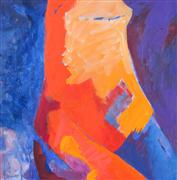 Abstract art,Expressionism art,Non-representational art,acrylic painting,Abstract Figure Studio XVI