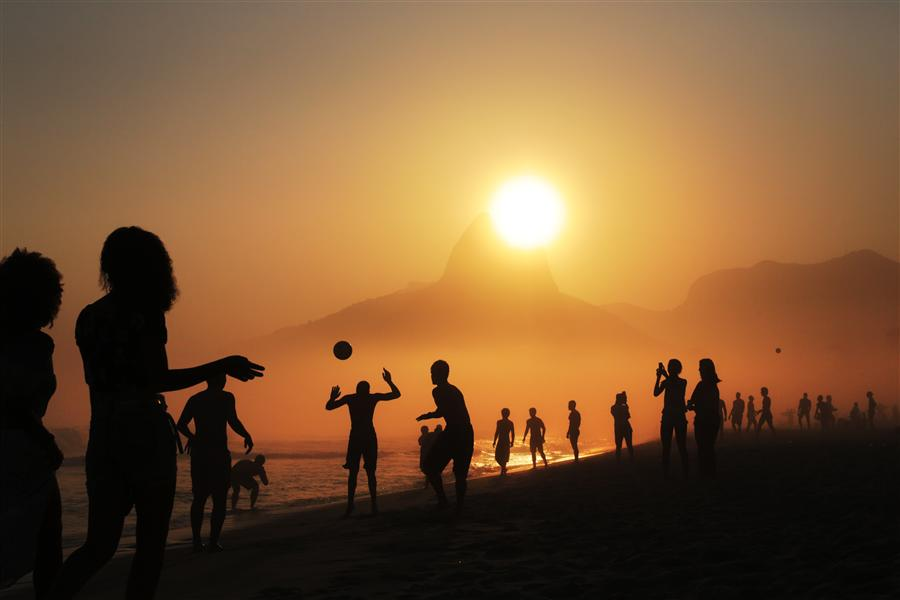Original art for sale at UGallery.com | Ipanema by MARIA PLOTNIKOVA | $145 |  | ' h x ' w | http://www.ugallery.com/photography-ipanema