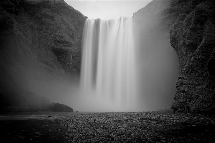 Original art for sale at UGallery.com | Skogafoss Falls, Iceland by ADAM GARELICK | $195 |  | ' h x ' w | http://www.ugallery.com/photography-skogafoss-falls-iceland