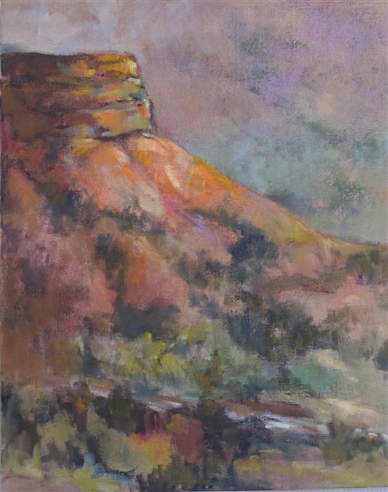 Discover Original Art by Anita L. West | Canyon oil painting | Art for Sale Online at UGallery