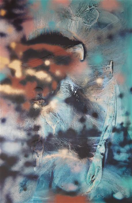 Discover Original Art by Mélisa Taylor | Vandal 4 mixed media artwork | Art for Sale Online at UGallery