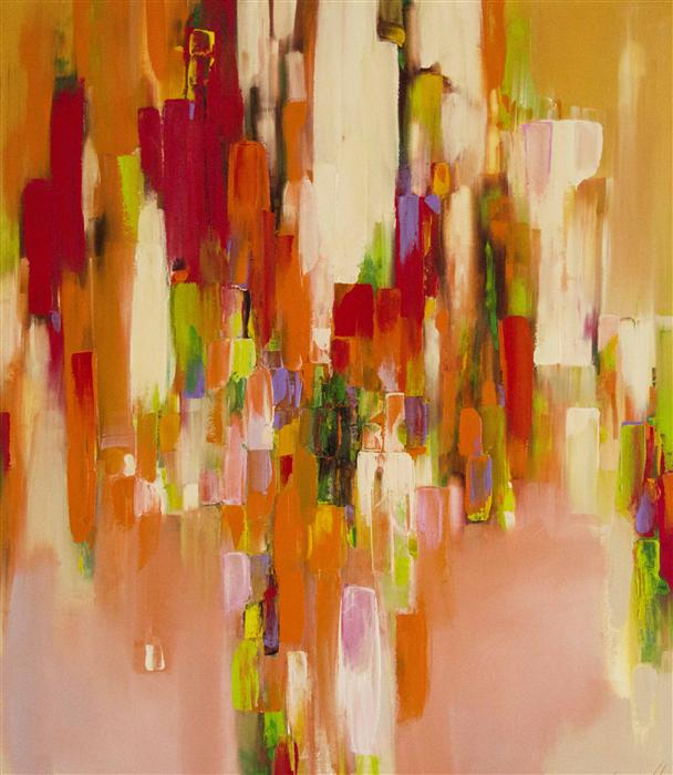 Original art for sale at UGallery.com | Summer Design by VAHE YEREMYAN | $2,075 | Oil painting | 38' h x 33' w | http://www.ugallery.com/oil-painting-summer-design