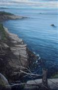 Seascape art,Classical art,Realism art,Representational art,oil painting,Still Standing