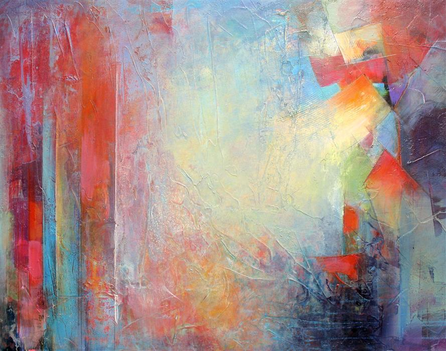 Original art for sale at UGallery.com | Color Vista by KAREN HALE | $2,575 | Acrylic painting | 30' h x 40' w | http://www.ugallery.com/acrylic-painting-color-vista
