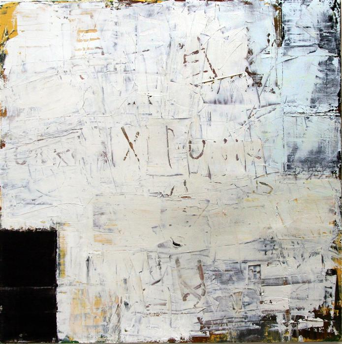 Original art for sale at UGallery.com | Unknown Origin #1 by JIM BLACK | $2,375 | Oil painting | 36' h x 36' w | http://www.ugallery.com/oil-painting-unknown-origin-1
