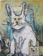 Animals art,Pop art,Representational art,mixed media artwork,Hope Springs