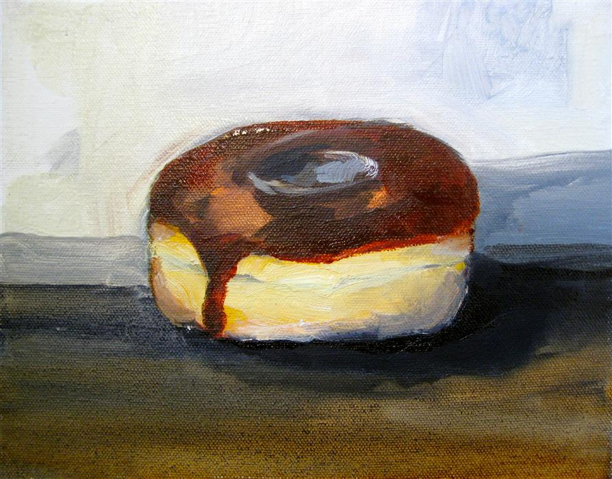 Discover Original Art by Malia Pettit | Chocolate Glazed oil painting | Art for Sale Online at UGallery
