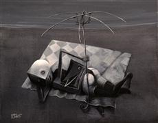 Fantasy art,People art,Surrealism art,Representational art,acrylic painting,Paralia
