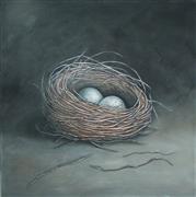 Animals art,Still Life art,Realism art,Representational art,acrylic painting,Make a Little Birds Nest in Your Soul
