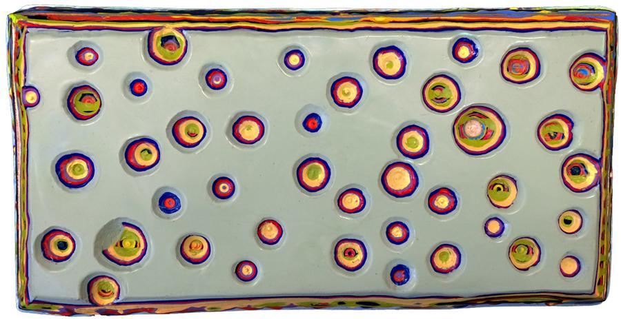 Original art for sale at UGallery.com | Hidden Agendas by SANDI MIOT | $450 | Encaustic artwork | 5.25' h x 10.5' w | http://www.ugallery.com/encaustic-artwork-hidden-agendas