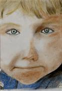 pastel artwork,Tears in His Eyes (Gouri)