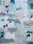 Abstract art,Street Art art,Non-representational art,Primitive art,mixed media artwork,Geometric 2