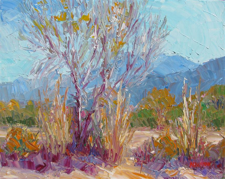 Original art for sale at UGallery.com | Autumn Splendor by ROGER ALDERMAN | $1,400 | Oil painting | 16' h x 20' w | http://www.ugallery.com/oil-painting-autumn-splendor