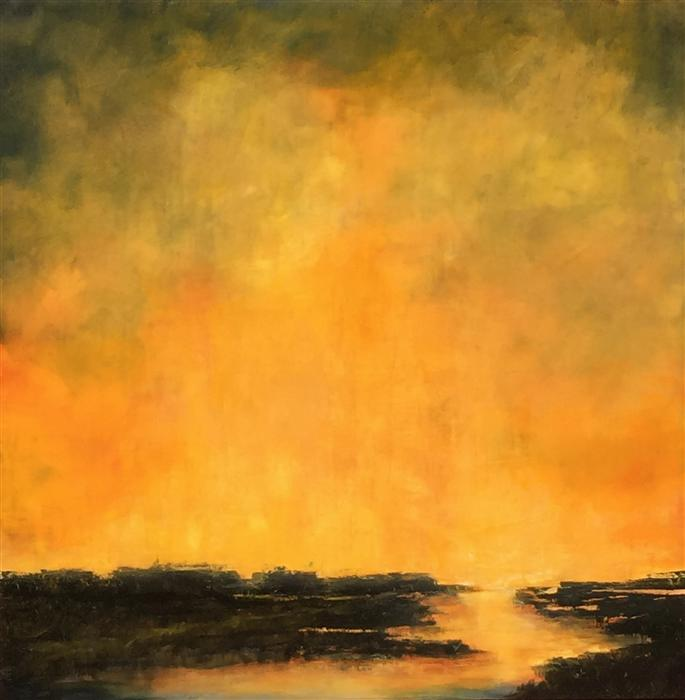 Discover Original Art by Mandy Main   Luminosity XXVI oil painting   Art for Sale Online at UGallery