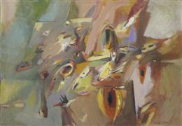 Abstract art,Non-representational art,oil painting,Specks