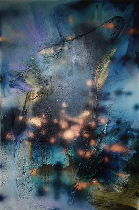 Discover Original Art by Mélisa Taylor | Vandal 3 mixed media artwork | Art for Sale Online at UGallery