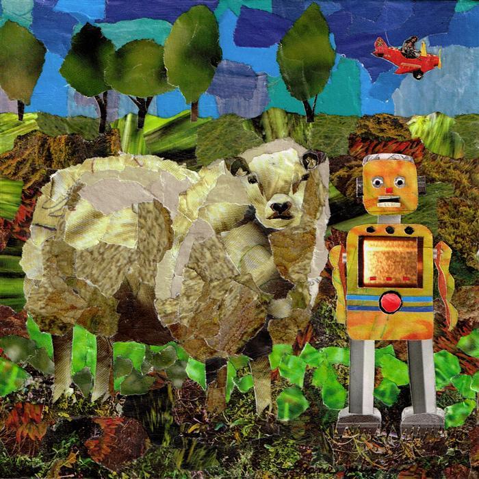 Discover Original Art by Diane Flick | Errol n' John mixed media artwork | Art for Sale Online at UGallery