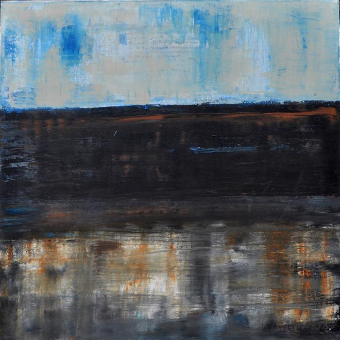 Original art for sale at UGallery.com | Yours by JULIE WEAVERLING | $1,475 | Acrylic painting | 36' h x 36' w | http://www.ugallery.com/acrylic-painting-yours