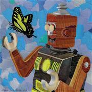 Fantasy art,Animals art,Street Art art,Representational art,mixed media artwork,Friend