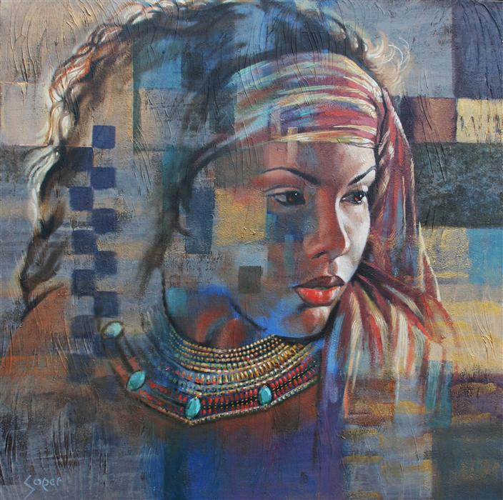 Discover Original Art by Patrick Soper | Drumsong oil painting | Art for Sale Online at UGallery