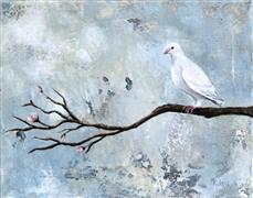 Animals art,Religion art,Representational art,Vintage art,acrylic painting,Peace Has Come
