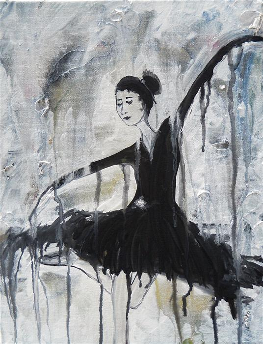 Discover Original Art by Laura Carter | The Dance acrylic painting | Art for Sale Online at UGallery