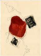 Abstract art,Minimalism art,Non-representational art,encaustic artwork,Let Dance II