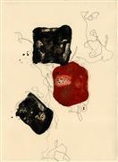 Abstract art,Minimalism art,Non-representational art,encaustic artwork,Let Dance III