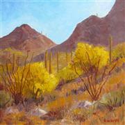 Impressionism art,Landscape art,Western art,Representational art,oil painting,Gates Pass