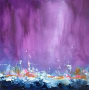 Abstract art,Non-representational art,oil painting,Turn Tide