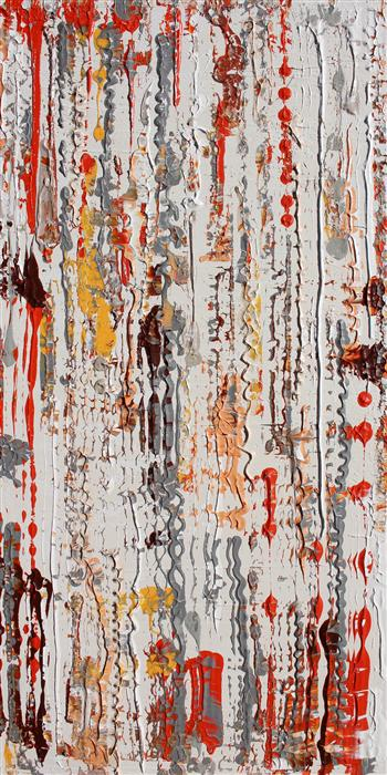 Original art for sale at UGallery.com | Autumn to Winter by IRENA ORLOV | $5,025 | Acrylic painting | 48' h x 24' w | http://www.ugallery.com/acrylic-painting-autumn-to-winter