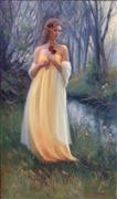 Fantasy art,People art,Representational art,Vintage art,oil painting,Fairy Tale Romance