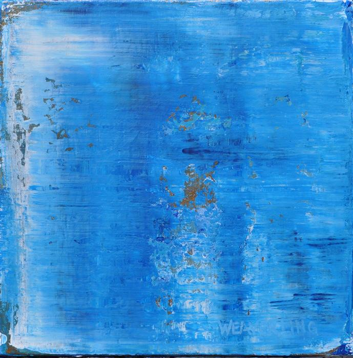 Discover Original Art by Julie Weaverling | Oceans 37 acrylic painting | Art for Sale Online at UGallery